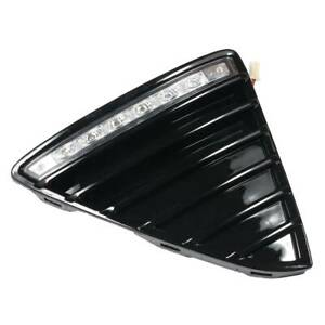 Front Left Lower Led Bumper Grille Fog Light Cover Fits Ford Focus 2012 2014