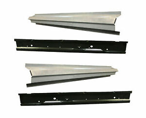 1984 01 Jeep Cherokee Wagoneer 4dr Outer Inner Rocker Panel Kit Pair