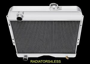New Champion 3 Row All Aluminum Radiator 1949 1964 Jeep Truck Willys Cc4964