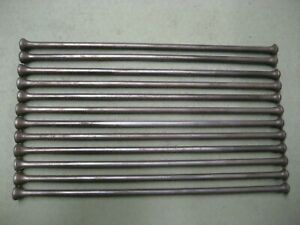 Set Of 12 Push Rods 1940 1953 Chevrolet 6 Cyl 216 3 5l Car Truck 10 7 16 Long