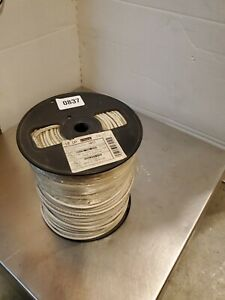 500 Roll Southwire Stranded Insulated Thhn Copper Wire White 10 Awg Gauge