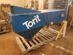 Torit At 3000 2900 Cfm Hanging Ambient Dust Collector With Hopper