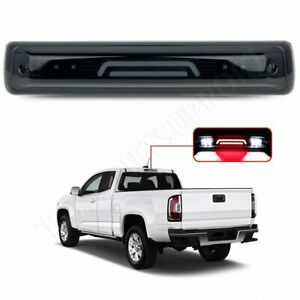 For 15 18 Colorado Canyon 3d Led Third 3rd Smoked Tail Brake Light W Cargo Lamp