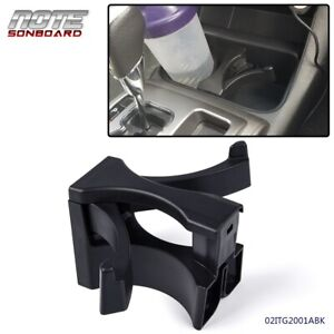 For 2005 2009 Tacoma Center Console Cup Holder Divider Insert Drink Black