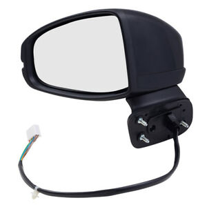 Door Mirror For 15 18 Honda Fit Driver Side Power Heated Signal 76258 t5r 309