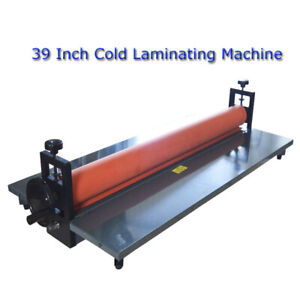 Intbuying New 39 Manual Cold Roll Laminator Laminating Machine Office Equipment