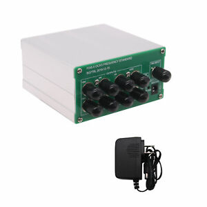 Ocxo Frequency Standard With 10mhz 5mhz 1mhz 100khz 1pps Outputs Power Adapter