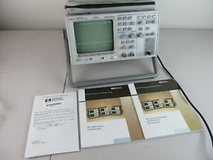 Agilent Hp 54615b 500mhz Oscilloscope 2 Channel Tested Working