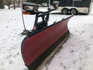 Boss Snow Plow 7 Sport Duty Poly Plow Great Condition