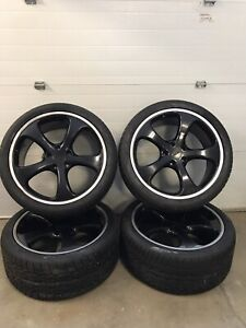 Techart Formula Set Of Wheels With Toyo Tires For Cayenne 04 Free Shipping