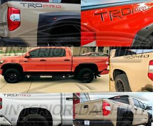 Letters Inserts Raised Reflective Set For 2018 2019 2020 Toyota Tundra Trd Pro