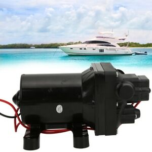 Water Yacht Electric Driver 12v Micro High Pressure Motor Diaphragm Pump Durable