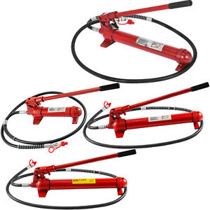 6 10 12 20 Ton Porta Power Hydraulic Jack Body Frame Repair Kit 2m Hose Lift Ram