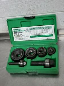 Greenlee 7235bb Slug buster Manual Knockout Kit For 1 2 To 1 1 4 Conduit 3