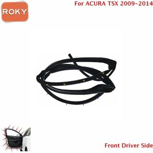 For Acura Tsx 2009 2014 Door Weatherstrip Front Left Opening Seal Stripping