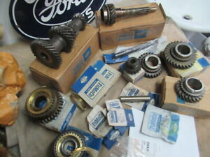 62 65 Ford Mustang Falcon Dagenham 4 Speed Transmission Complete Gear Set