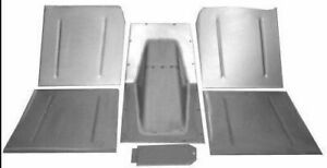 1928 1936 Chevrolet Chevy Car Front Floor Pans toe Boards Trans Hump 6 Pc Kit