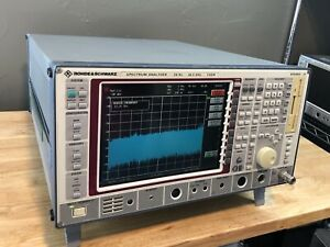 Rohde Schwarz Fsem 30 Spectrum Analyzer 20 Hz 26 5 Ghz Calibrated Opt B4 B5