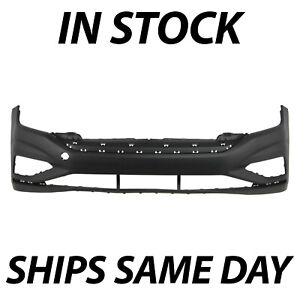 New Primered Front Bumper Cover Replacement For 2019 2020 Volkswagen Vw Jetta