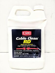 Crc 02152 High Voltage Splice Cleaner High Voltage Cable Cleaner 1 Gallon