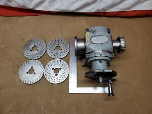 Hardinge Dividing Head Indexing Plate Accessories
