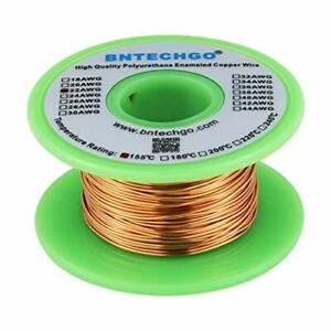 Bntechgo 22 Awg Magnet Wire Enameled Copper Wire Enameled Magnet Winding Wire