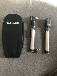 Welch Allyn Otoscope Ophthalmoscope Set Ref 13010