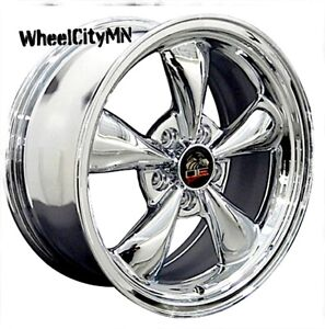 17 X8 Inch Chrome Ford Mustang Bullet Oe Replica Wheels 1994 2004 5x4 5 29