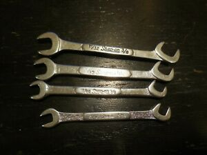 4 Snap On Open End Ignition Wrenches Free Usa Shipping