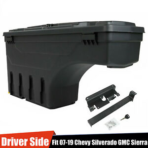 For Chevy Silverado Gmc Sierra 07 18 Truck Bed Storage Box Toolbox Left Driver