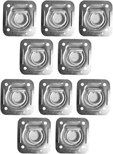 10 Recessed Trailer D Rings For Enclosed Cargo Control Trailers Flatbed Trailers