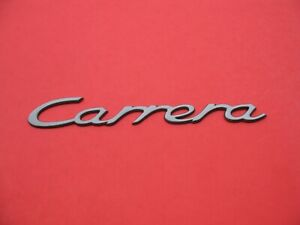 98 99 00 01 02 03 04 Porsche Carrera 911 Rear Emblem Logo Badge Sign Used B3012