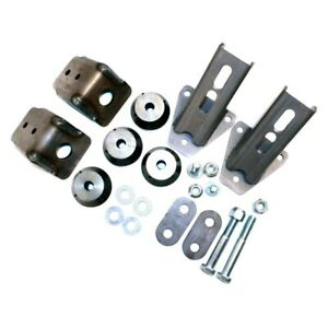 Advance Adapters 713001 s Weld on Engine Mount Kit Chevy 90 degree V6