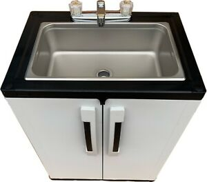 Portable Concession Sink Large Mobile Handwash Self Contained Hot Water