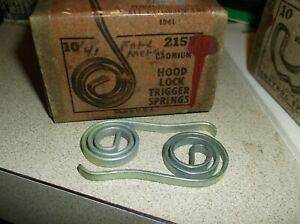 Hood Lock Latch Spring 1941 Ford Mercury All Closed Cars Auveco 2157