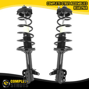 1999 2003 Mazda Protege Rear Quick Complete Strut Coil Spring Assemblies Pair