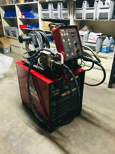 Lincoln Dc 400 Mig Pkg Dual Wire Feeder
