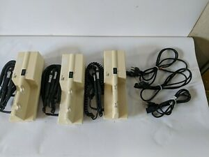 Lot Of 3 Welch Allyn 767 Wall Transformer For Opthalmascope Otoscope No Heads