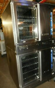 Used Imperial Double Convection Oven Std Ove Natural Gas
