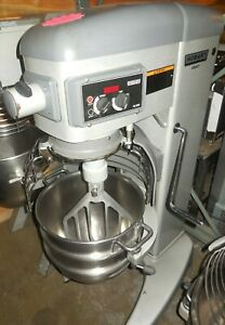 Used Hobart Legacy Hl 300 30 Quart Food Mixer W Bowl Guard Bowl 2 Tools