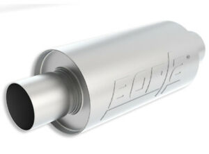 Borla 40842s Specialty Universal S Type 2 5in Inlet Outlet Stainless Muffler