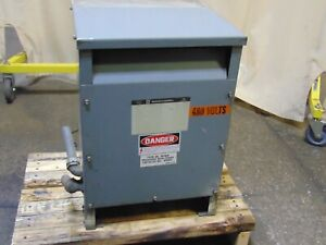 Square D 25 Kva Sorgel Single Phase Insulated Transformer 240x480 120 240