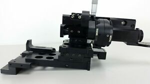Thorlabs 2 axis Xy And 1 axix Z Bearing Stage Micrometers Base Mount