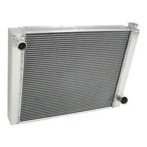 Chevy Aluminum Performance Racing Radiator 26 2 Row Triple Pass Universal