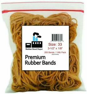 Rubber Band Depot Size 33 3 1 2 X 1 8 1 4 Pound Made In Usa