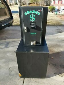 American Changer Bill Changer Ac2001 Dual Hopper Used Good Condition