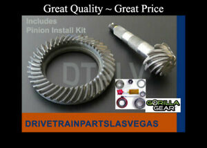 Gm Chevy 8 5 10 Bolt 4 10 Ratio Ring Pinion Gear Set Install Kit 1970 To 1999