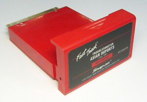 Snap On Fast Track Asian Imports Mt25002499 Troubleshooter Cartridge Excellent