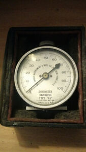 Vintage Shore Durometer Hardness Type A 2 Tester