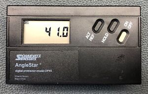 Lucas Anglestar Digital Utility Protractor Dp45 Tested With New Battery